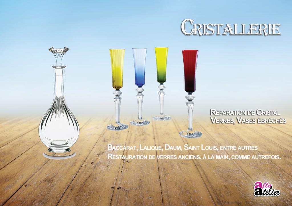 Cristallerie Allo Atelier restauration et réparation verre et cristal